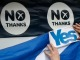 Daily Agenda Scottish Referendum Outcome Still in the Air