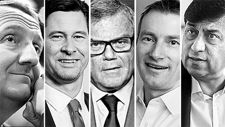 2015 All Europe Executive Team Honors Regions Corporate Leaders