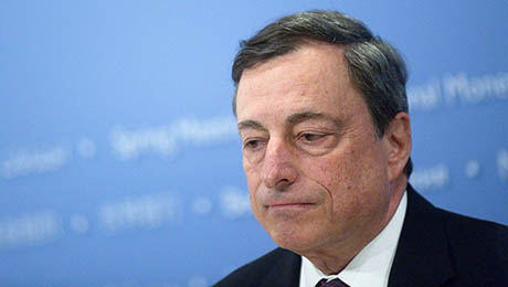 Daily Agenda Mario Draghi Underscores Growth Concerns in Europe