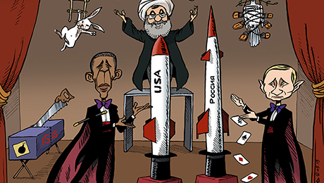 The Middle East Is All Magic Tricks and Theater