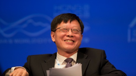 China Investment Corp Boss Ding Has Friends in High Places