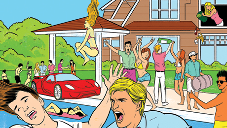 Booze Drugs and Fistfights Another Summer in the Hamptons