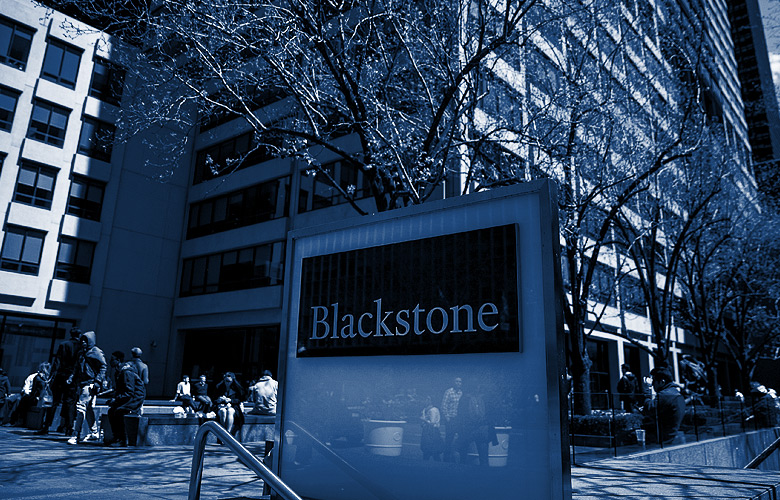 Blackstone Group LP headquarters, New York. (Photo credit: Victor J. Blue/Bloomberg)
