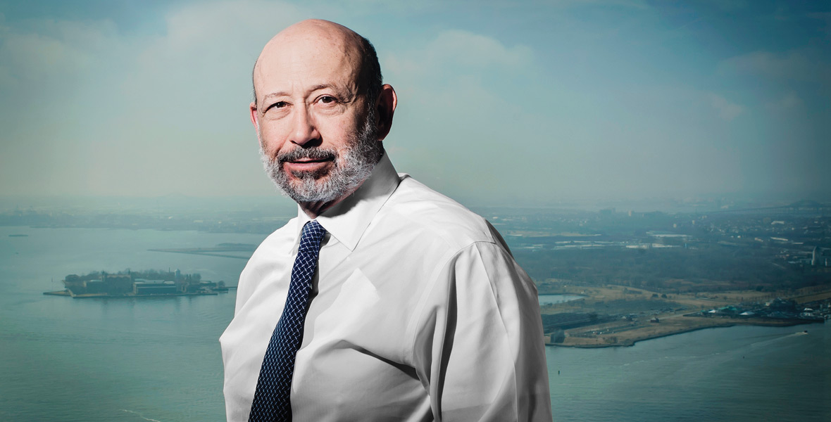 Lloyd Blankfein's Big, Tricky, Game-Changing Bet
