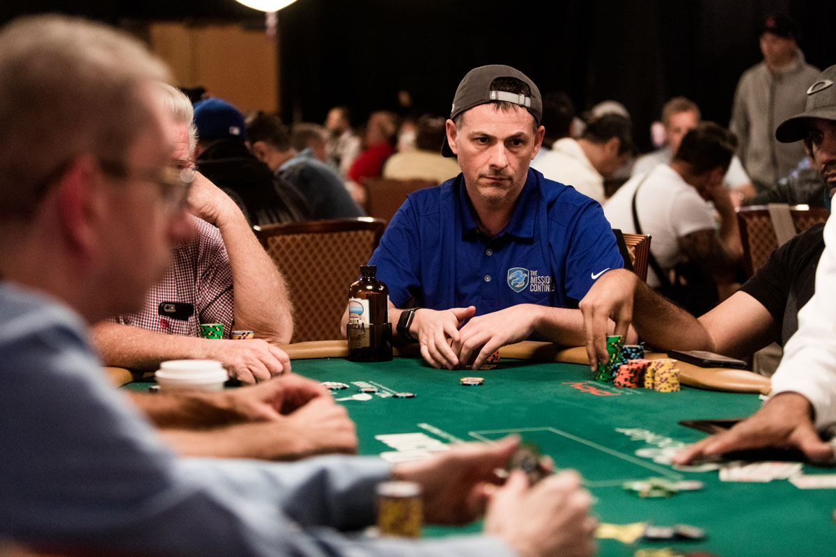 David Einhorn at the World Series of Poker. (Photographs by Roger Kisby)