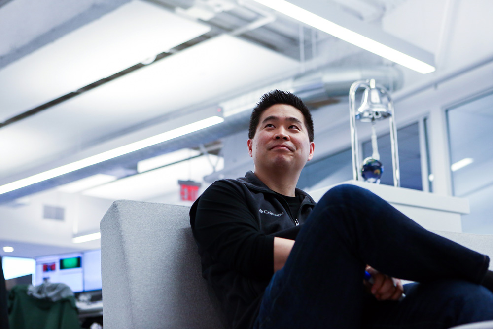 Brad Katsuyama, chief executive officer of IEX Group (Chris Goodney/Bloomberg)