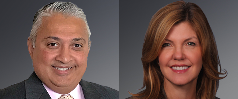 Sanjay Yodh, Director US Insurance, and Karen Bater, Senior Fixed Income Specialist